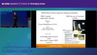 David Woods: 2015 EMERGING ISSUES FORUM INNOVATION RECONSTRUCTED