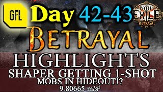 Download Video Path of Exile 3.5: BETRAYAL DAY # 42-43 Highlights MOBS IN HO!? SHAPER 1-SHOT MP3 3GP MP4