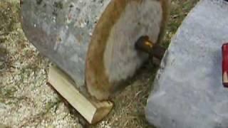 Black Powder Wood Splitter