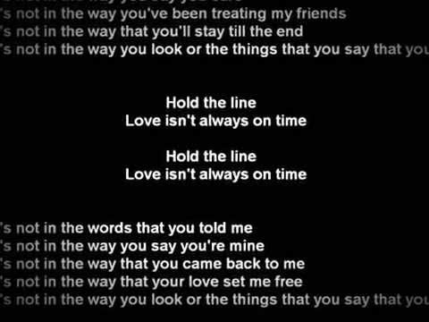 toto hold the line Lyrics HD