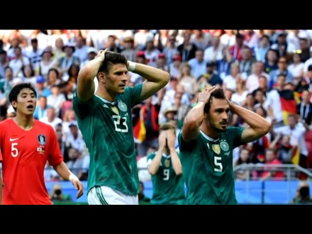 Germany knocked out of World Cup by South Korea