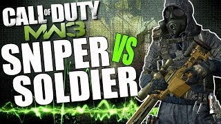Call Of Duty: Modern Warfare 3 | Super Snipers Vs Super Soldier! COD MW3 Specialist Gameplay!