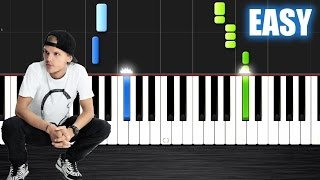 Avicii - Waiting For Love - EASY Piano Tutorial by PlutaX - Synthesia
