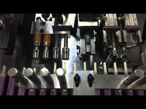 Marker Pen Assembly Machine (Model:GRK-L340-MK)