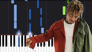 "Juice WRLD - ""Lucid Dreams (Forget Me)"" Piano Tutorial - Chords - How To Play - Cover"