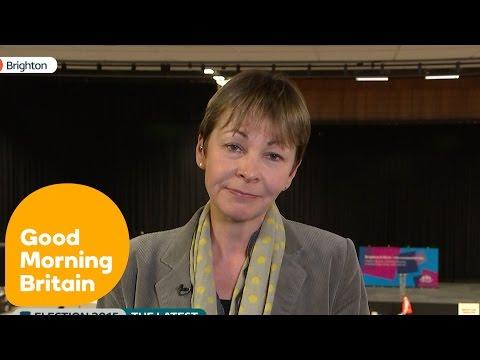Caroline Lucas On The Greens Lack Of Seats | Good Morning Britain