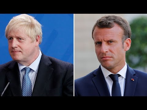 Watch Again Boris Johnson And Emmanuel Macron Make Joint Statement Youtube