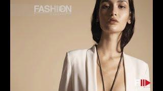 TATIA AKHALAIA Model Spring 2020 - Fashion Channel