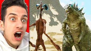 SCARIEST MONSTER SIGHTINGS in REAL LIFE! (Try Not To Get SCARED Challenge)