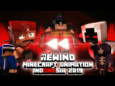 Youtube Rewind Minecraft Animation Indonesia 2019 || WE ARE ONE ||