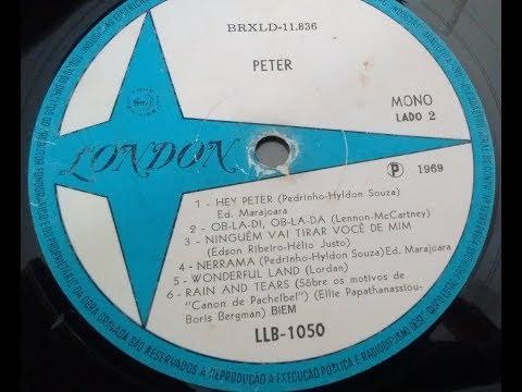 Hyldon de Souza & Pedrinho da Luz - Hey Peter (London Records | 1969)