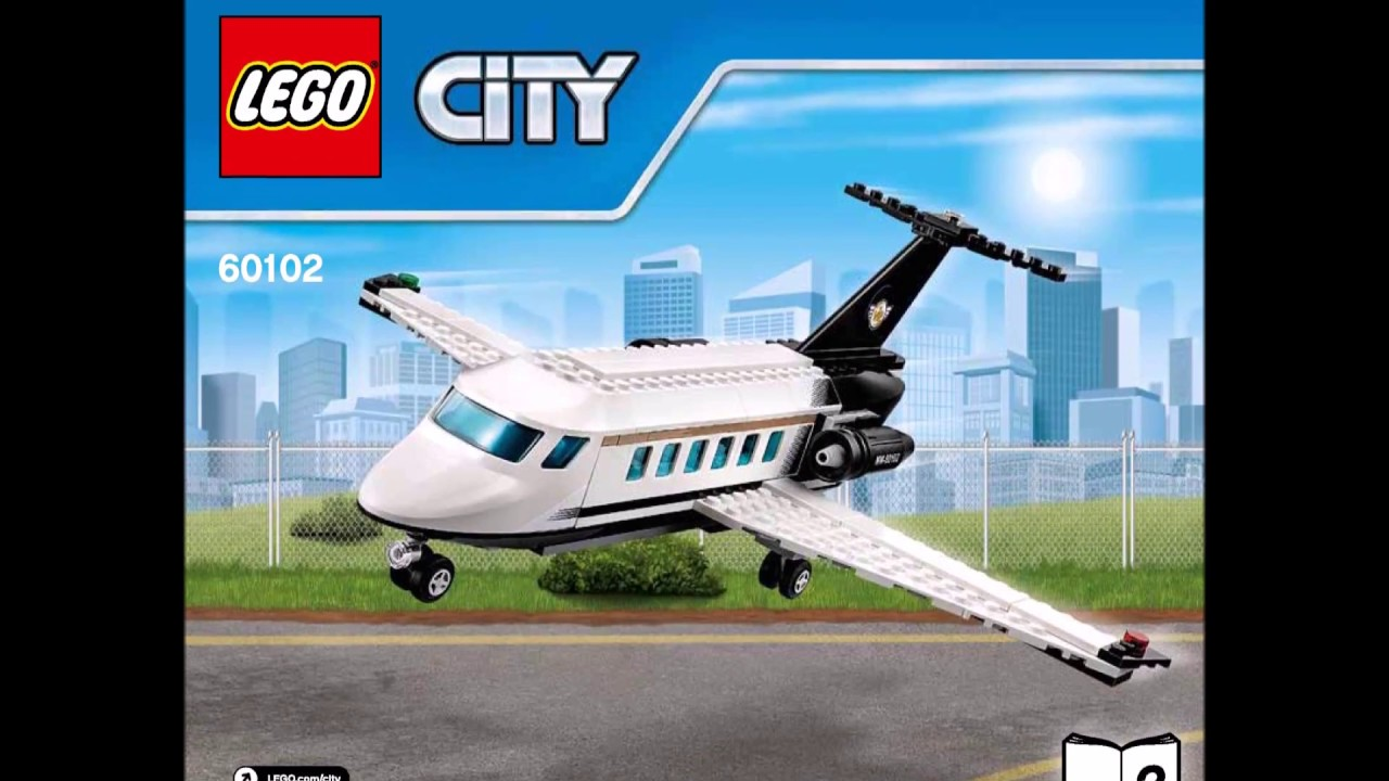 Jet Privato Lego City : Lego city airport vip service instructions diy book