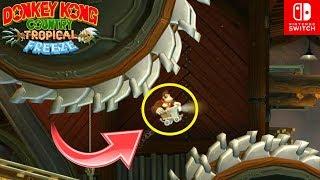CARRITOS+SIERRAS = ¡KONGBINACIÓN LETAL! - Donkey Kong Country TROPICAL FREEZE #4 (SWITCH) - ZetaSSJ