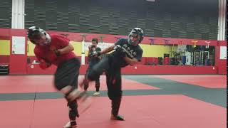 4s Ranch Karate Spinning Back Kick Head