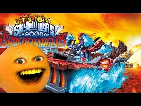 Annoying Orange Plays - Skylanders Super Chargers
