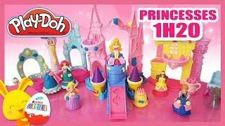 Disney Princesses - Pâte à modeler Play-Doh en français - Titounis