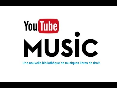 YouTube propose une bibliothèque de musiques libres de droits.
