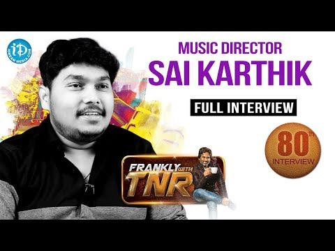 Frankly With TNR #80 - Full Interview || Talking Movies With iDream