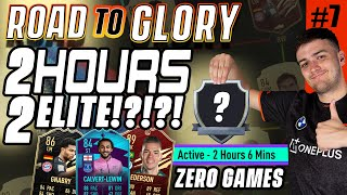 ZERO TO ELITE ON FUT CHAMPS IN 2 HOURS! WORLD RECORD ON THE RTG! FIFA 21 #7