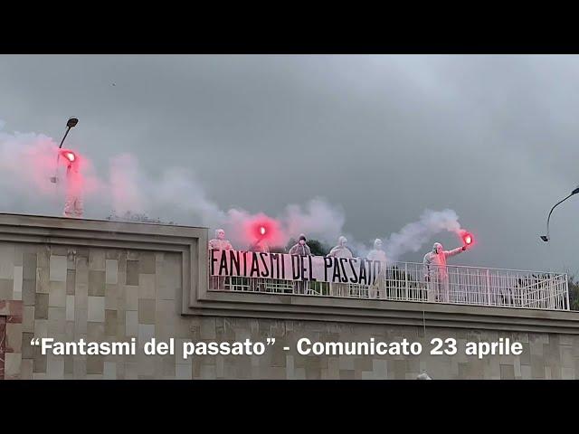 """COMUNICATO DEI """"FANTASMI DEL PASSATO"""" Atto III / coprifuoco letale: flashmob al Tondo Gioieni"""