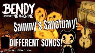 BENDY AND THE INK MACHINE SAMMY S MUSIC PUZZEL Songs BATIM Nintendo Switch