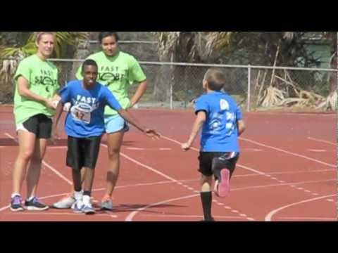 Hungerford Elementary School DOMINATES Fast Trac on Showalter Field February 2012