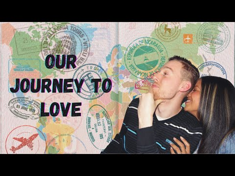 I moved ABROAD for love! || 9 countries & 3 years later in under 4 mins!