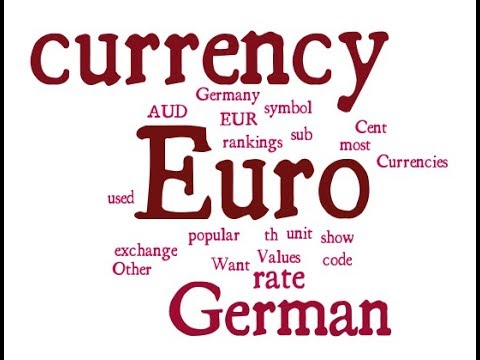 German Currency - Euro
