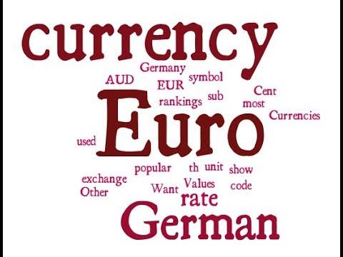 German Currency Euro Youtube