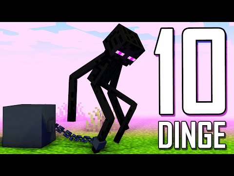 10 Dinge in Minecraft die Du nicht kennst 🔟 Crocodileandy