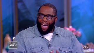 Killer Mike On MLK Day Of Service, New Show 'Trigger Warning' | The View
