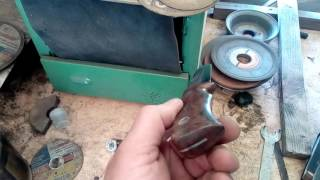 нож из пилы по металлу (пила Робеля или мехпила)