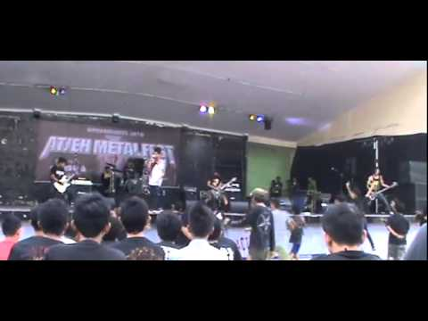 Pure Insanity Live Performance in Banda Aceh (Atjeh Metal Fest)
