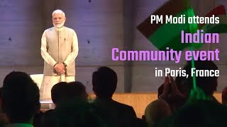 PM Modi interacts with Indian Community in Paris, France | PMO