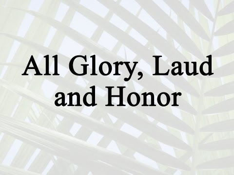 all-glory,-laud-and-honor-(hymn-charts-with-lyrics,-contemporary