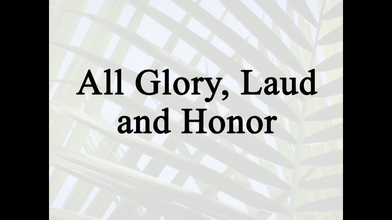 New Creation Church - All Glory and All Praise - YouTube