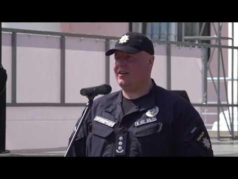 Поліція Луганщини: 11.05.2019_На Луганщині відзначили 5-ю річницю з Дня створення поліцейського батальйону «Луганськ-1»