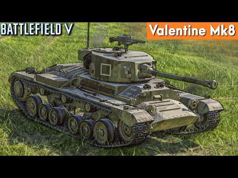 รถถังอังกฤษประจัญบาน  Valentine MK8  Battlefield V ไทย