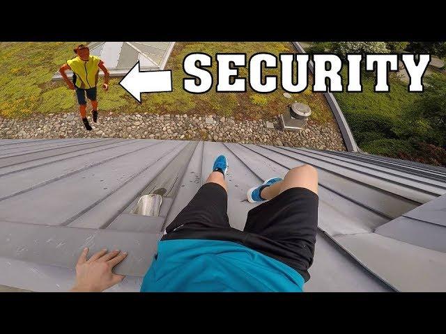PARKOUR POV vs. SECURITY | INSANE POV ESCAPE !!!