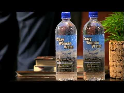 Crazy Woman Water Commercial