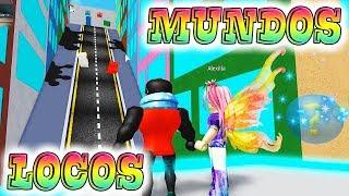 ROBLOX: MUNDOS LOCOS OBBY!