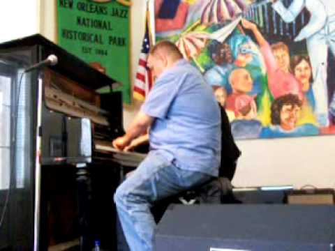 Jim Hession and Chris Calabrese/New Orleans Jazz Fest  Piano Duet
