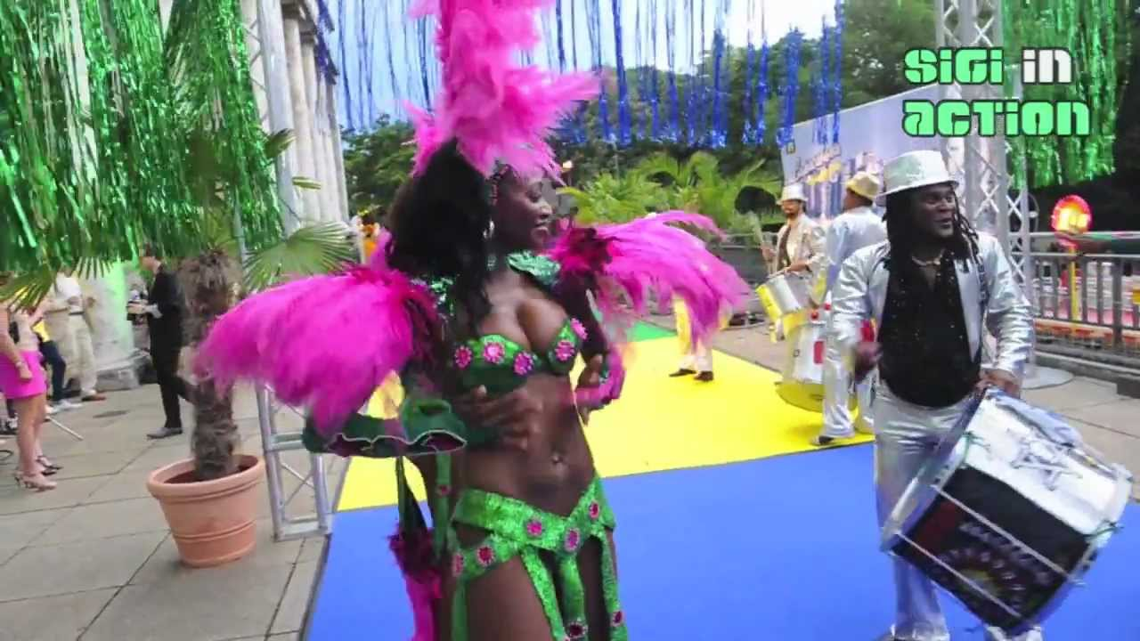WELCOME TO THE COPACABANA - P1 Sommerfest 2012 - Summerparty with sexy Samba Dancers