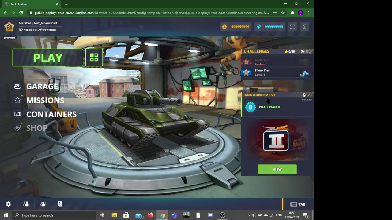 How To Open The Shop In Tanki Online Test Server Feb 2021 Update Youtube
