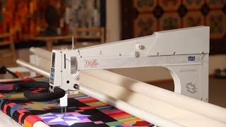 Millennium longarm quilting machine from APQS