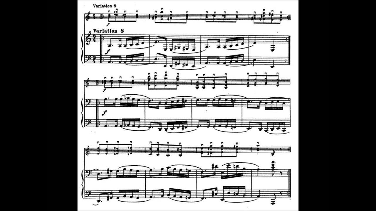 auer paganini caprice for solo violin op 24 no 1 sheet music youtube. Black Bedroom Furniture Sets. Home Design Ideas