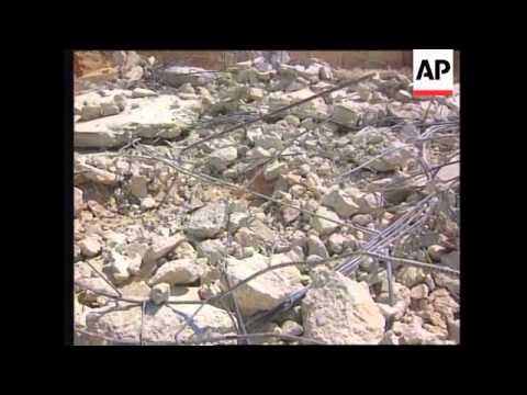 Israel - Palestinian Homes Destroyed