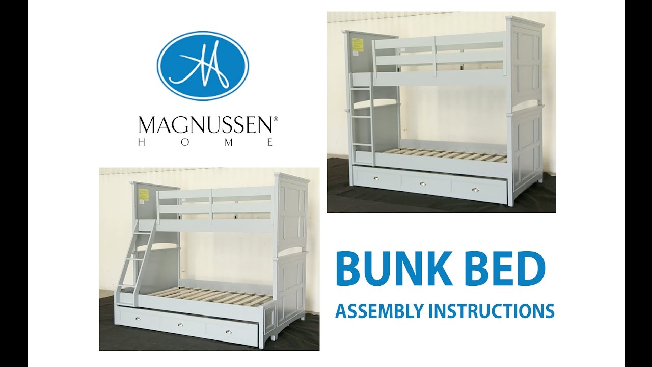 Twin Full Bunk Bed Embly Instructions