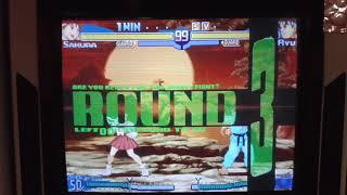 SFA ZERO3  ③カワグチさくら VS フチリュウ       (KAWAGUCHI)vs(FUCHI)  2018.1 STREET FIGHTER Alpha3 (60fps)