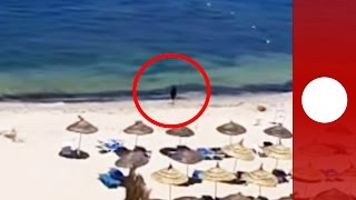 AmVid shows alleged Tunisia gunman moments after beach shootings